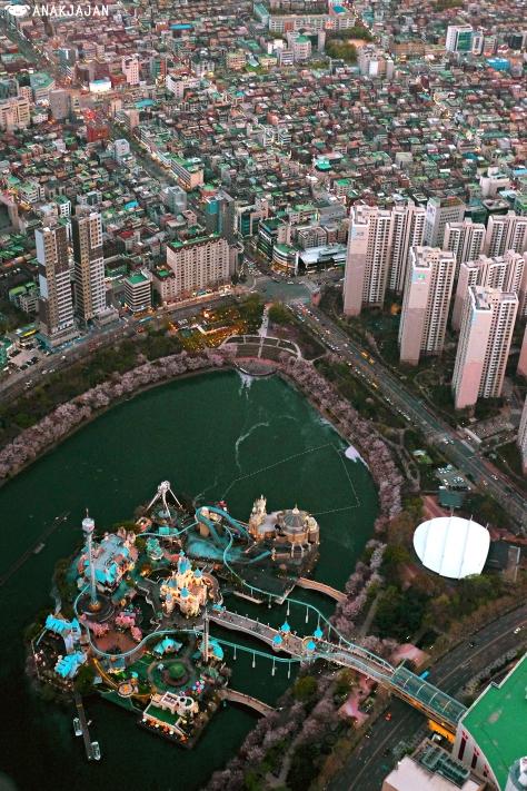 Korea Seoul Sky Observatory Lotte World Tower