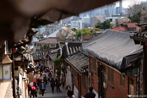 how to go to insadong from bukchon hanok village