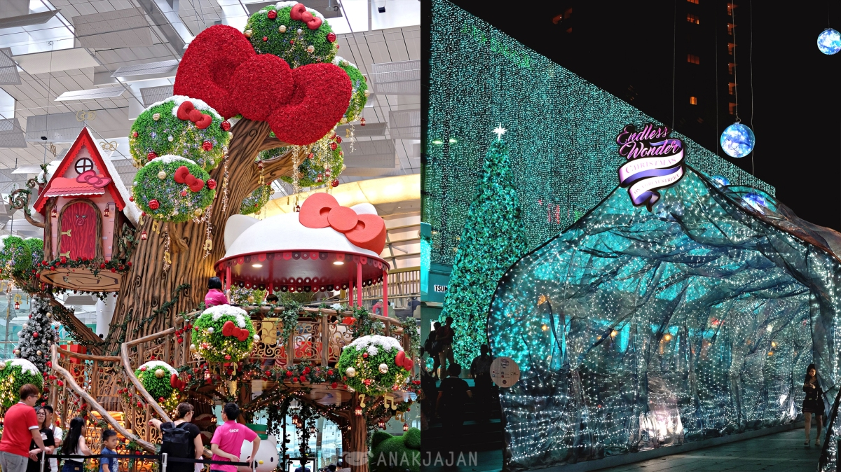 Singapore Tiket Garden By The Bay Anak Christmas Lights Orchard Road Winter Wonderland Changi Airport