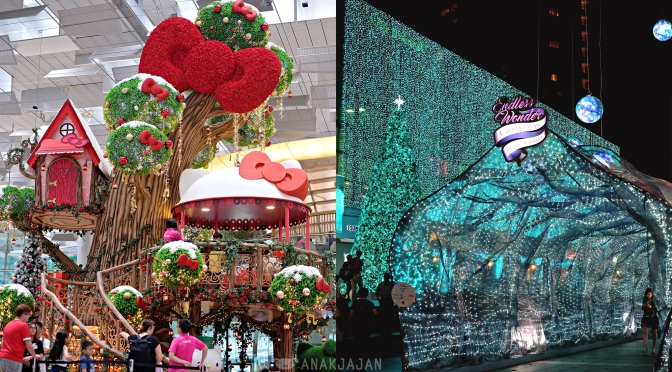 [SINGAPORE] CHRISTMAS LIGHTS – Orchard Road, Winter Wonderland, Changi Airport
