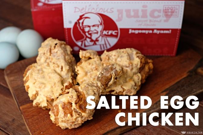 KFC SALTED EGG CHICKEN – Indonesia