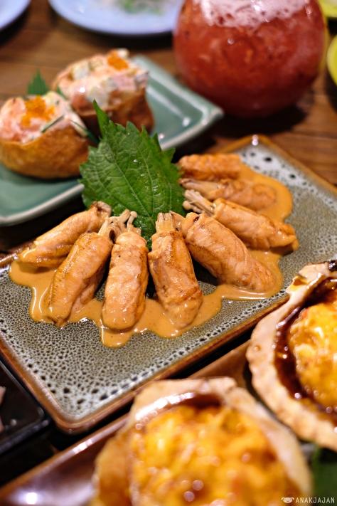 Food Lovers Cafe Sushi Menu