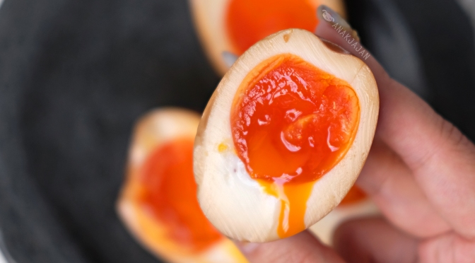 [RECIPE] AJITSUKE TAMAGO/ Ramen Egg (Ajitama)