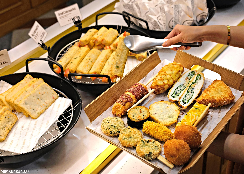 street food Korea Jakarta, Samjin Amook