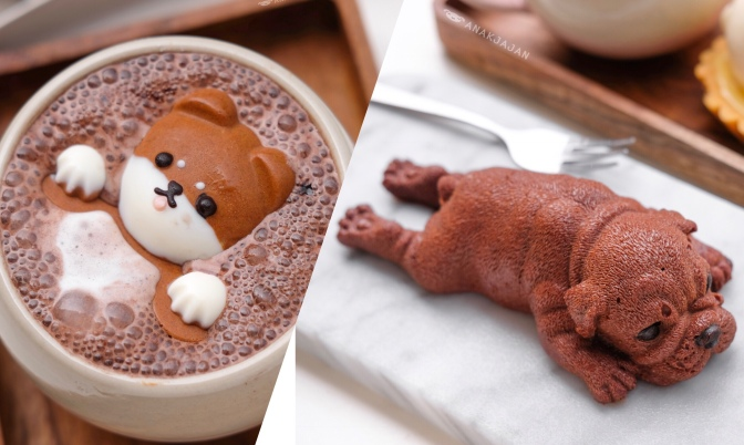 DOG MOUSSE CAKE – C for Cupcakes & Coffee, Jakarta