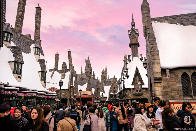 UNIVERSAL STUDIOS JAPAN – Osaka (The Wizarding World of Harry Potter, Minions, etc)