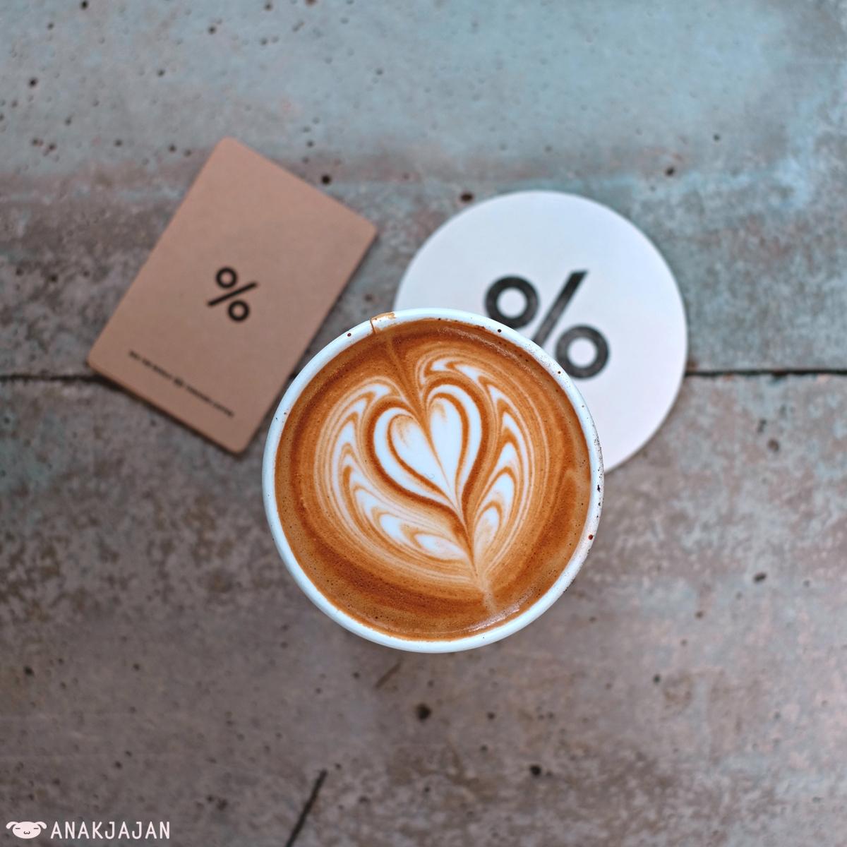 % ARABICA COFFEE