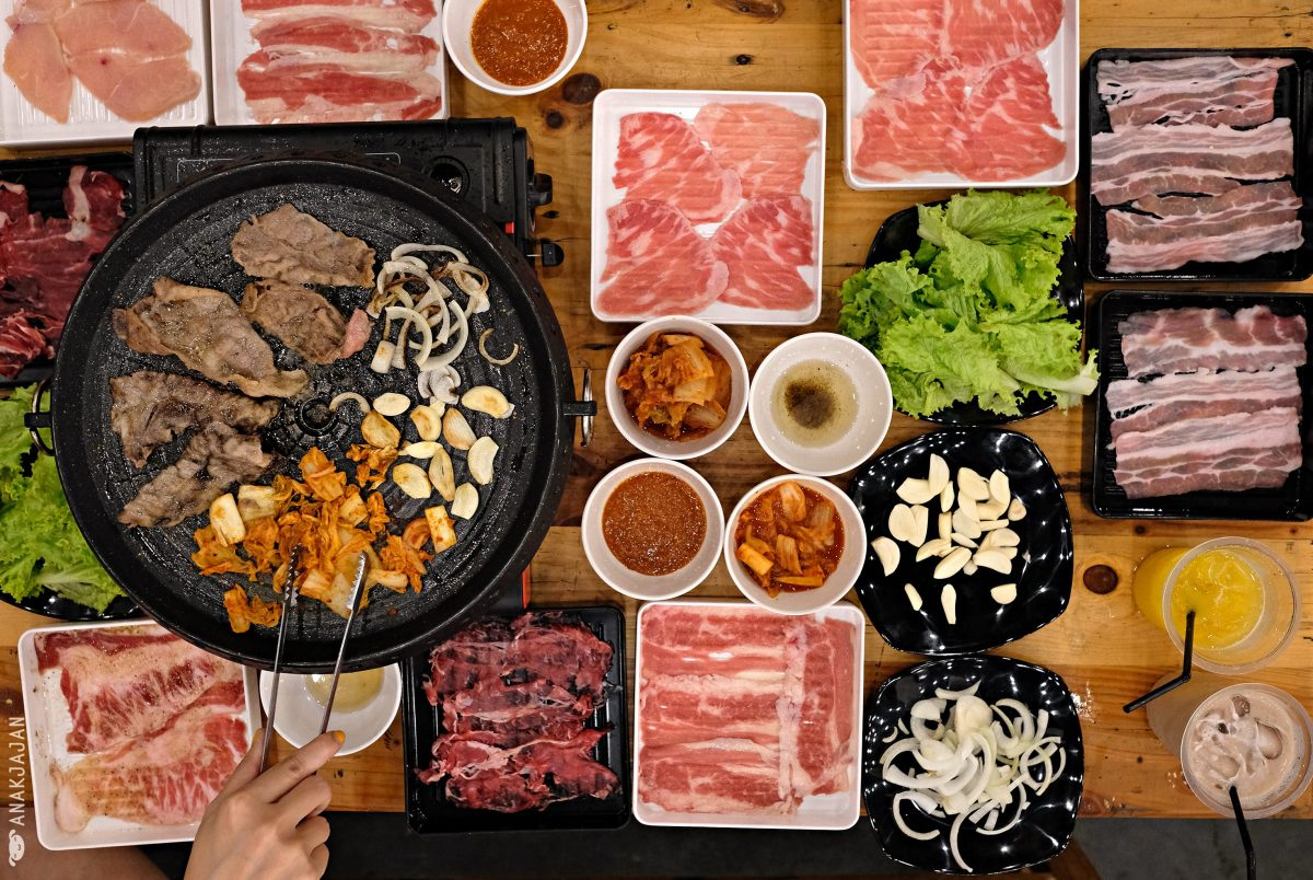 SIMHAE - IDR 99K KOREAN BBQ All You Can Eat, Jakarta